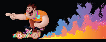 wreck ralph sam carter art