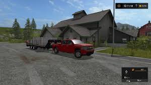 chevy truck car 2008 chevy silverado v2 car ls17 farming simulator 17 mod fs