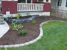garden ideas front of house yard landscaping ideas low