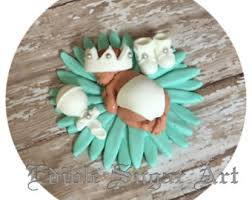 baby shower fondant cake topper baptism cake decorations