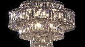 Crystal Chandeliers Schonbek Plaza Crystal Chandeliers At Casa Di Luce Youtube