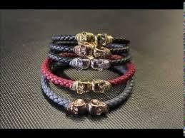 skull bracelet leather images China skull leather bracelet china skull leather bracelet jpg
