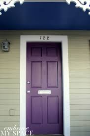 Modern House Colors Best 25 Purple Front Doors Ideas Only On Pinterest Purple Door