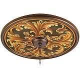 Bronze Ceiling Medallion by Tiffany Tracery 24