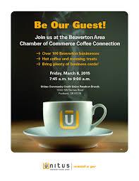 Maps Credit Union Salem Oregon by Unitus Community Credit Union Is Hosting Coffee Connection