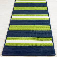 Yellow And Blue Outdoor Rug Sassy Stripes Indoor Outdoor Rugs Shades Of Light