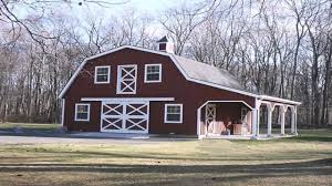 gambrel style homes barn style house plans with loft youtube