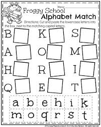 best 25 letter matching ideas on pinterest kindergarten