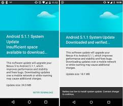 android update 5 1 nexus 4 nexus 5 and nexus 9 get android 5 1 1 lollipop ota how