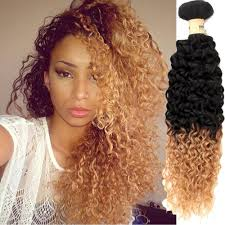 Long Blonde Wavy Hair Extensions by Cheap Perruque 1b 27 Blonde Peruvian Hair Weave Curly Ombre