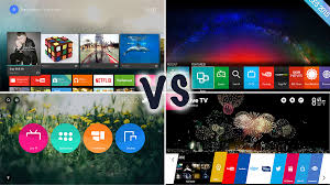 what s android tv vs samsung tizen vs firefox os vs lg webos what s the