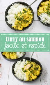recette saine et facile godiche curry au saumon facile et rapide godiche