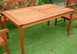 Plans For Patio Table by Diy How To Build An Outdoor Wood Table Plans Free Wood Patio
