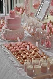 pink and gold cake table decor 161 best dessert buffet images on pinterest dessert tables