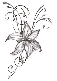 free pictures of flower drawings free clip free clip