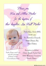 pastel butterfly christening invitation s soft pink
