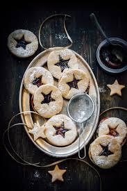 linzer cookies with quince paste sugar et al