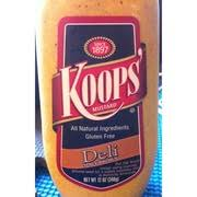 koops mustard koops mustard deli spicy brown calories nutrition analysis