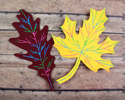scratch art fall leaf craft moms and crafters
