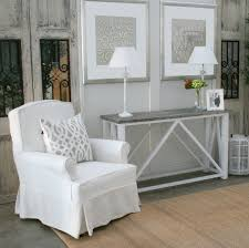 Entrance Table by New England Hamptons Console Or Entrance Table In Driftwood Grey