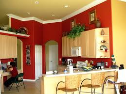 kitchen color ideas with cherry cabinets medium blue paint color u2013 alternatux com