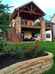 exterior stairs design deck traditional with westbury aluminum