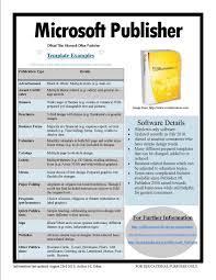 Microsoft Publisher Resume Templates Microsoft Office Publisher Calendar Templates