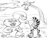 coloring pages for kids penguin madagascar32b4 coloring pages
