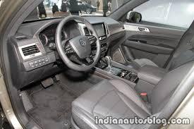 2017 ssangyong rexton dashboard at iaa 2017 indian autos blog