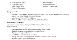 resume sle of accounting clerk test speed accounts receivable resume exles