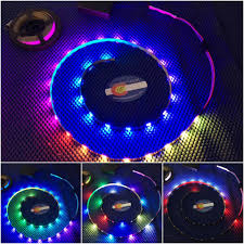 led strip lights for motorcycles complete led strip light kits led hula hoops by colorado hula hoops