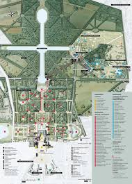 Versailles France Map by Map Of The Gardens Of Versailles Http Map Of Paris Com Parks