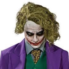 Heath Ledger Halloween Costume Batman Dark Knight Joker Wig Buycostumes