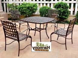 Iron Patio Table And Chairs Patio Furniture Wrought Iron Dining Sets Awesome Metal Patio