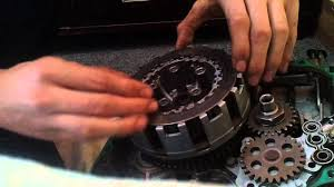 how to change clutches on a 400ex youtube