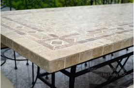 Design Luxury Homes - home design luxury stone top outdoor tables tuscany mosaic