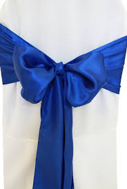 royal blue chair covers by design event decorating event wedding chair cover rentals