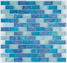 Blue Backsplash Tile by Green Sea Glass Backsplash With White Cabinets I Can See It Now