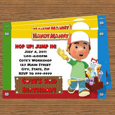 41 handy manny images birthday party ideas