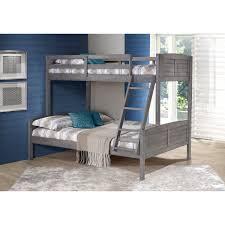 Donco Bunk Bed Reviews Donco Antique Grey Louver Bunk Bed Free