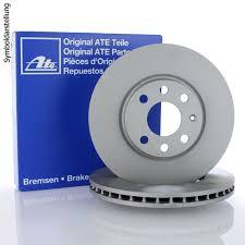 mercedes c class brake discs mercedes c class c32 amg ate 2x front brake discs set 345mm
