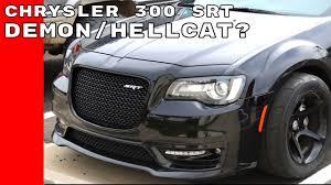 chrysler 300 srt widebody chrysler 300 srt with dodge demon wheels could be new