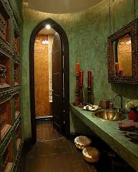 inspired bathrooms bathrooms classic moroccan bathroom with vintage floating sink