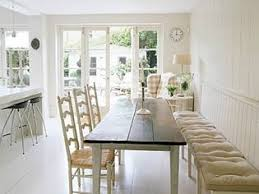 nice dining room table with bench against wall 17 best ideas about