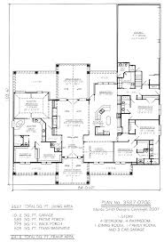 3 bedroom bungalow house plan with garage two story plans