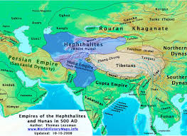 Pakistan On Map Of World by The Changing Map Of India From 1 Ad To The 20th Century