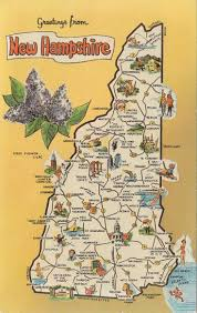 New Hampshire travel scale images New hampshire map goolge map