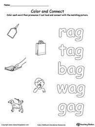 ug word family workbook for kindergarten word families