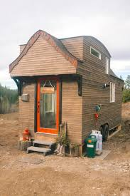 it looks like an ordinary tiny house cabin when i get a closer