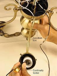 Rewiring An Old Chandelier Rewiring Chandelier Diy Thesecretconsul Com